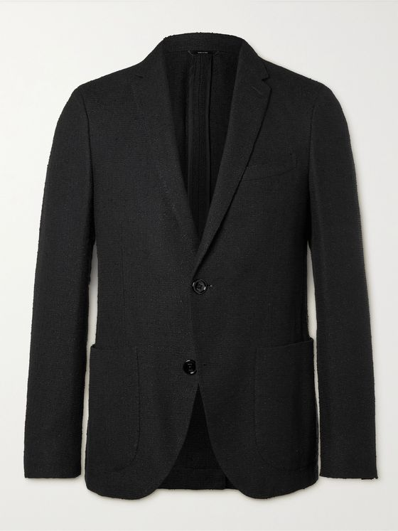 FENDI Linen and Cotton-Blend Bouclé Blazer