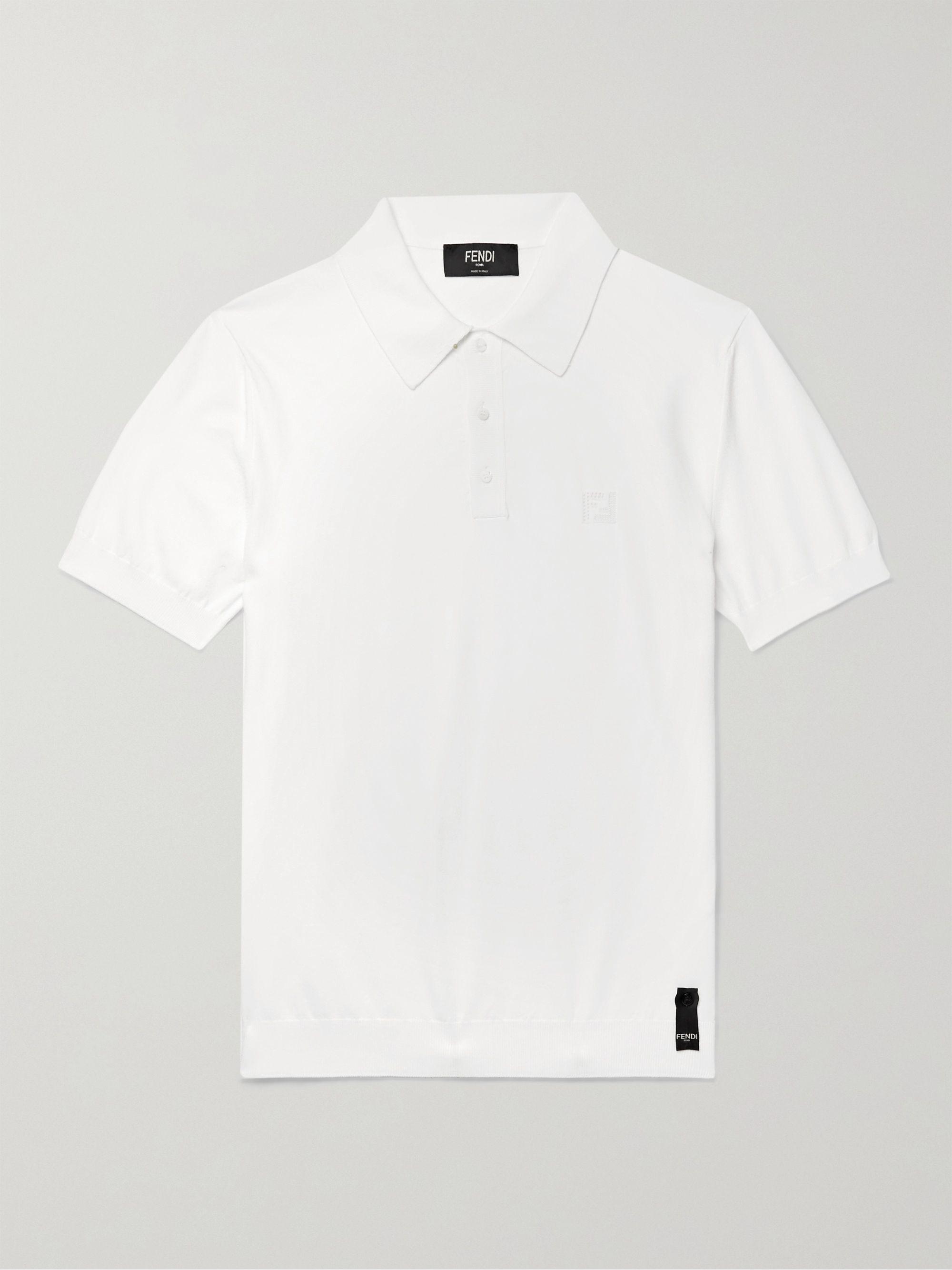 FENDI Knitted Polo Shirt