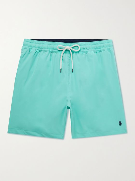 POLO RALPH LAUREN Traveler Mid-Length Swim Shorts