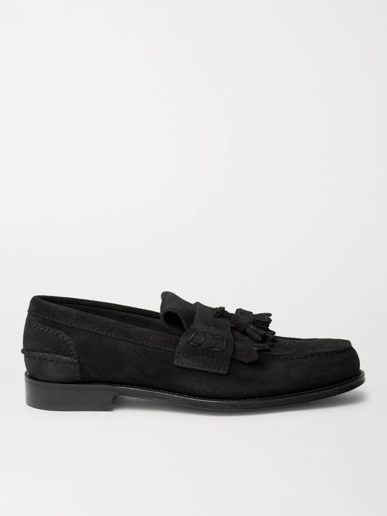 CHURCH'S Oreham Suede Tasselled Loafers