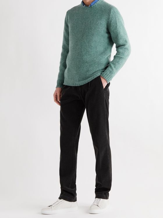 MAN 1924 Mélange Wool Sweater