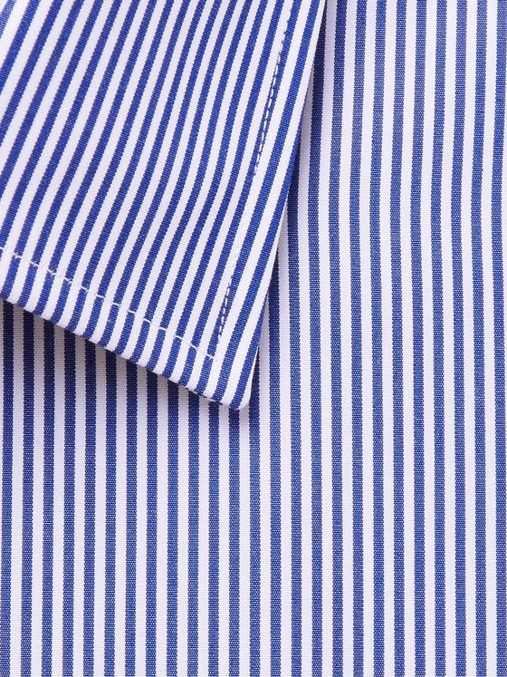 HUGO BOSS Jango Slim-Fit Striped Cotton Shirt