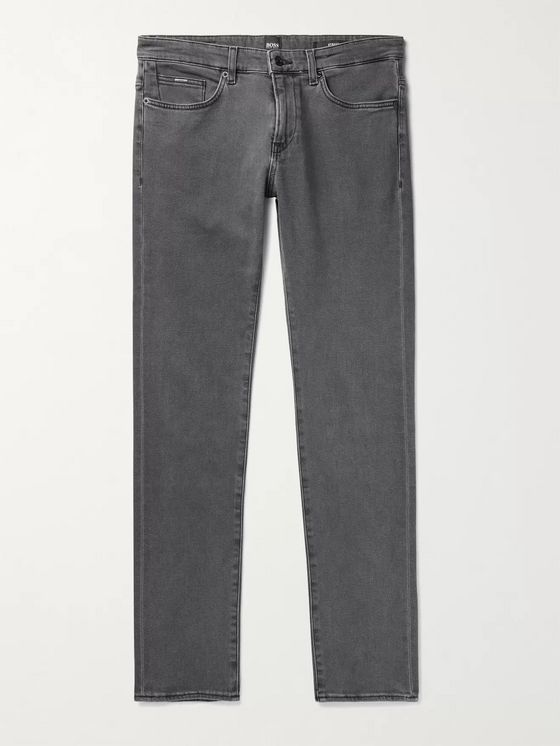 Hugo Boss Delaware Stretch-Denim Jeans