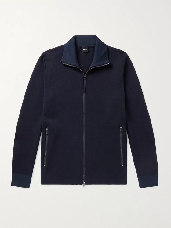 HUGO BOSS Galberto Cotton-Jersey Track Jacket