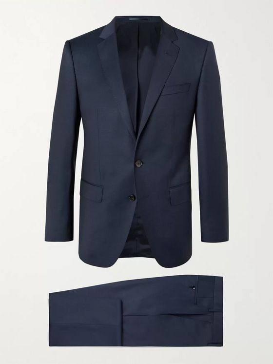 HUGO BOSS Huge/ Genius Slim-Fit Virgin Wool Suit