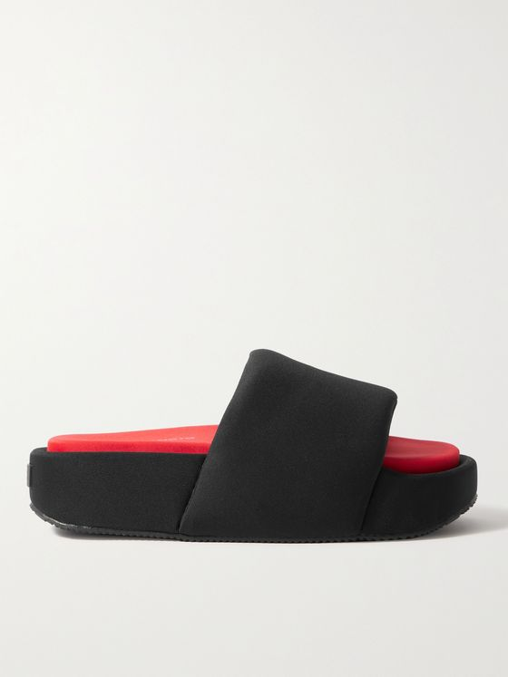Y-3 Two-Tone Neoprene Slides