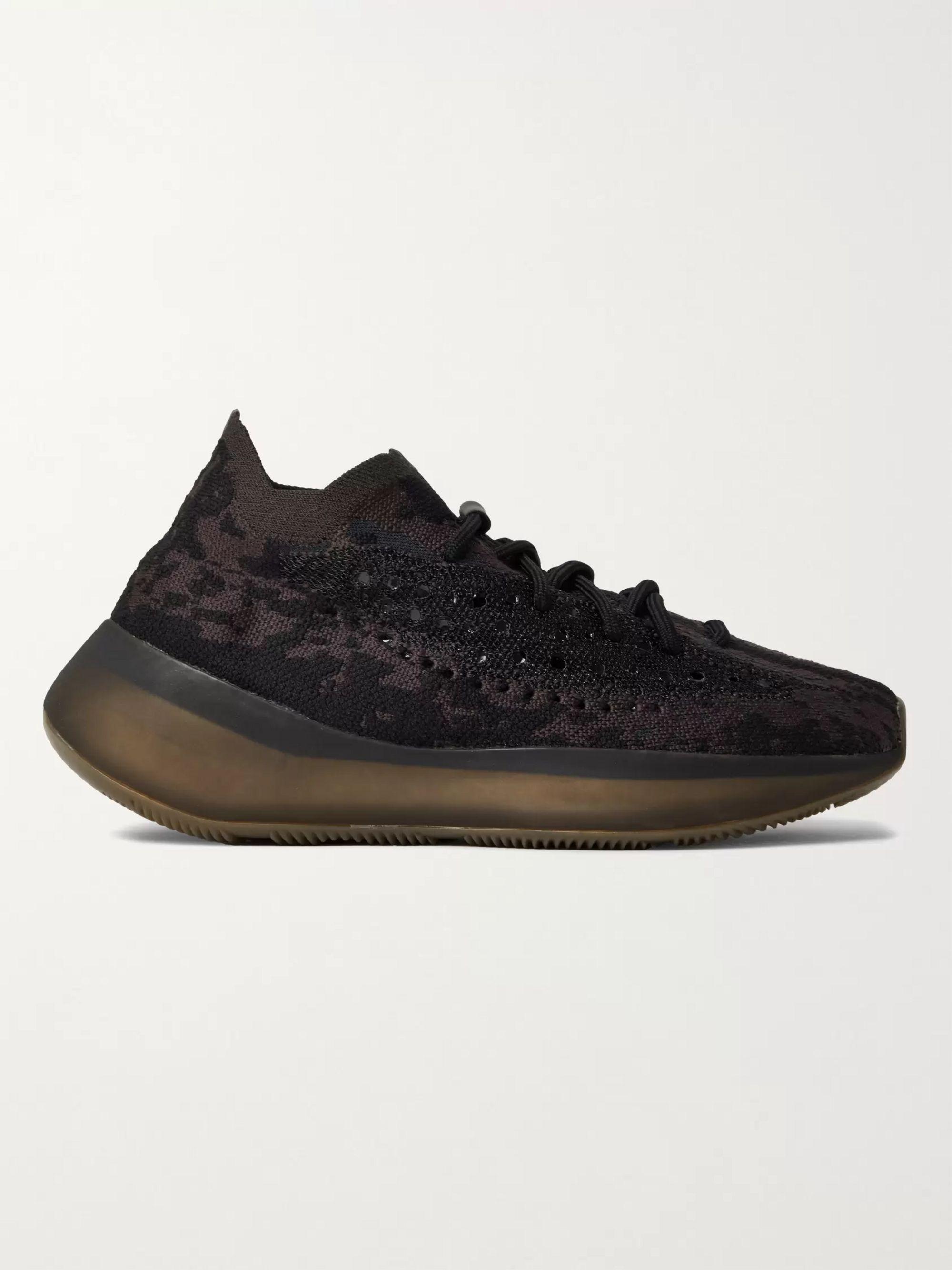 Black Yeezy Boost 380 Primeknit Sneakers Adidas Originals Mr Porter