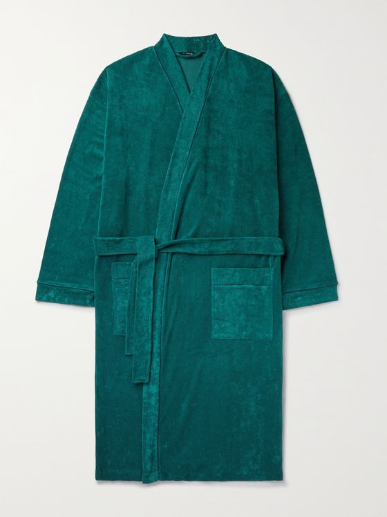 SCHIESSER Cotton-Blend Terry Robe