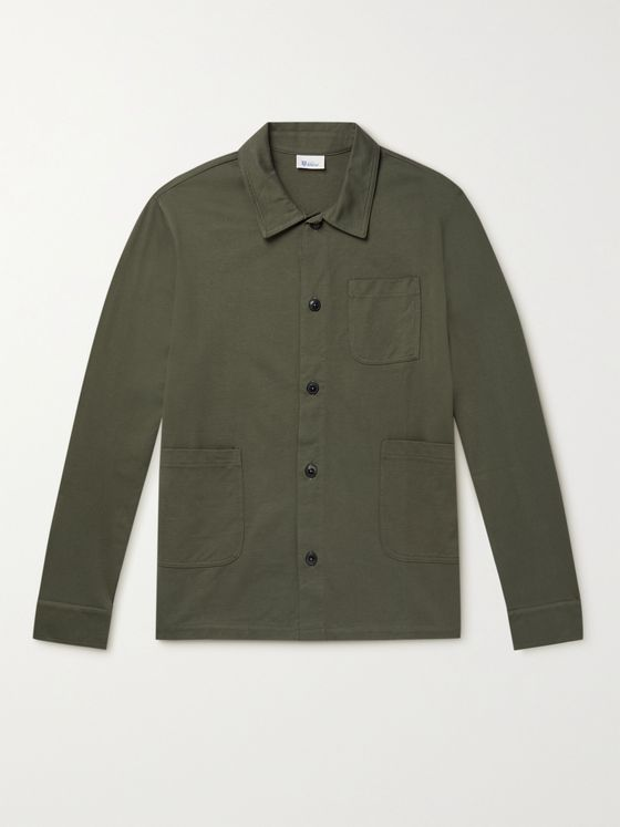SCHIESSER Matthias Cotton Overshirt
