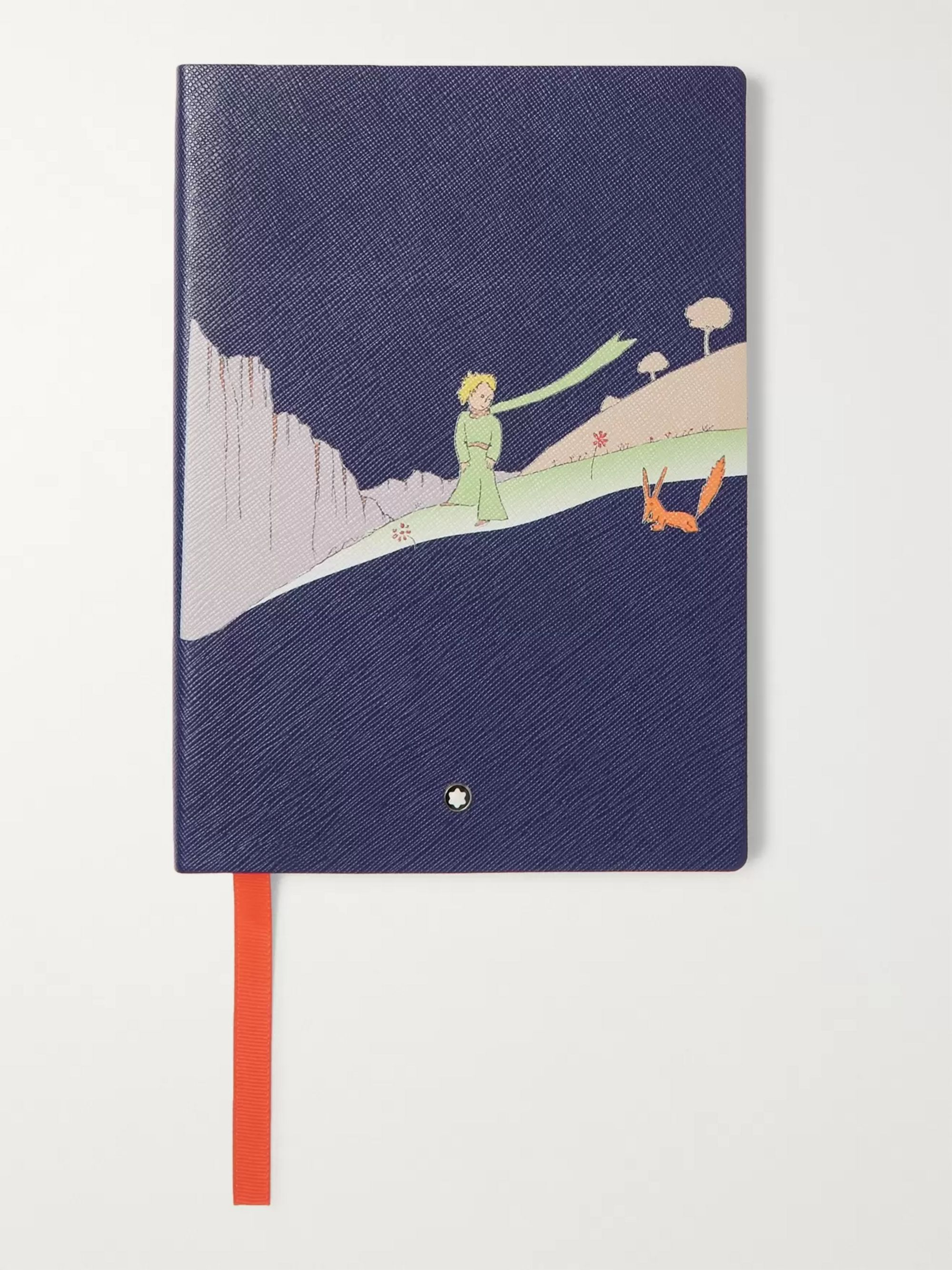 Montblanc #146 Le Petit Prince Cross-Grain Leather Notebook
