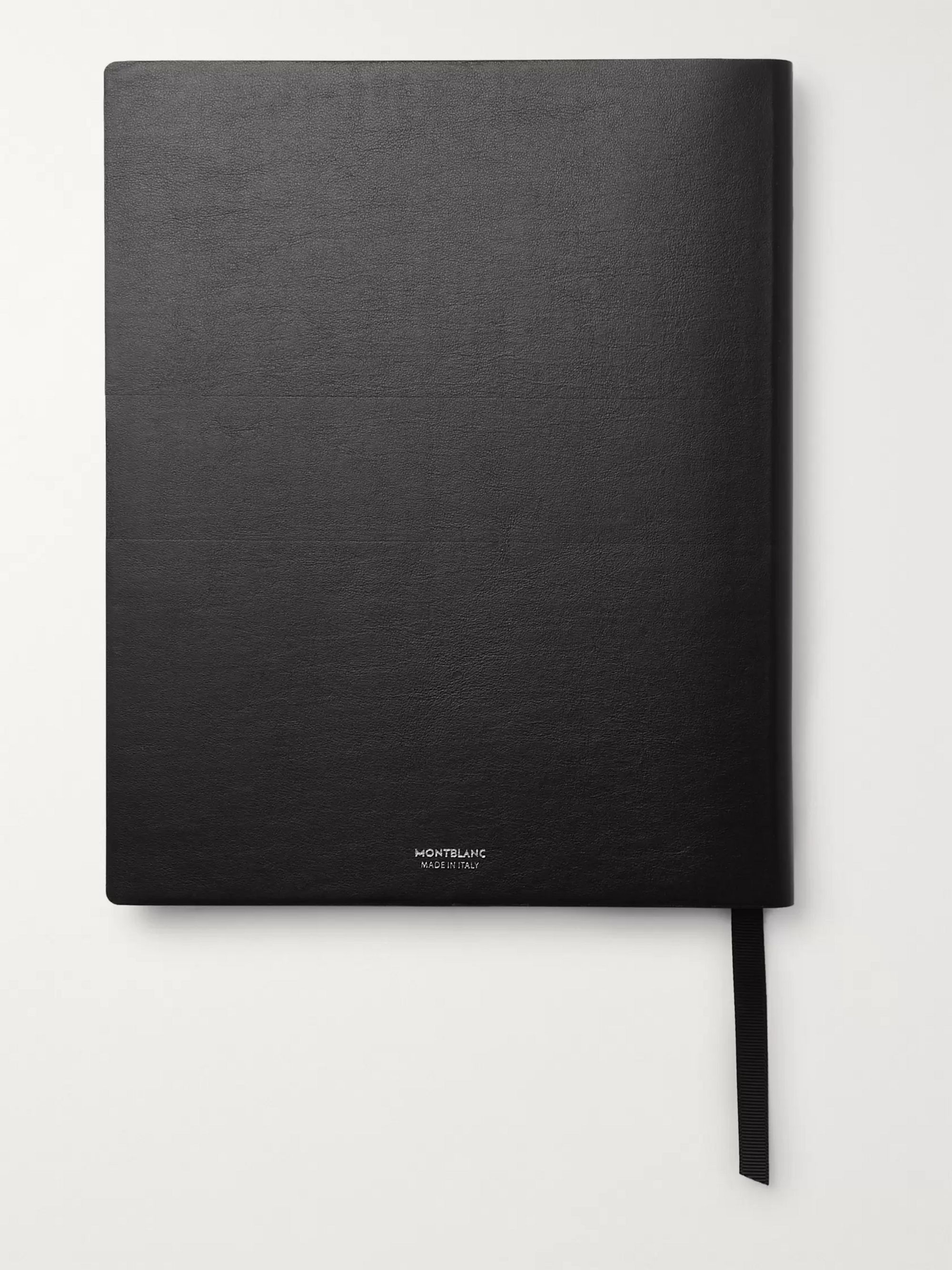 Montblanc #149 Metallic Leather Notebook