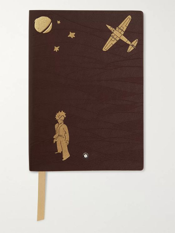 Montblanc #146 Le Petit Prince Leather Notebook