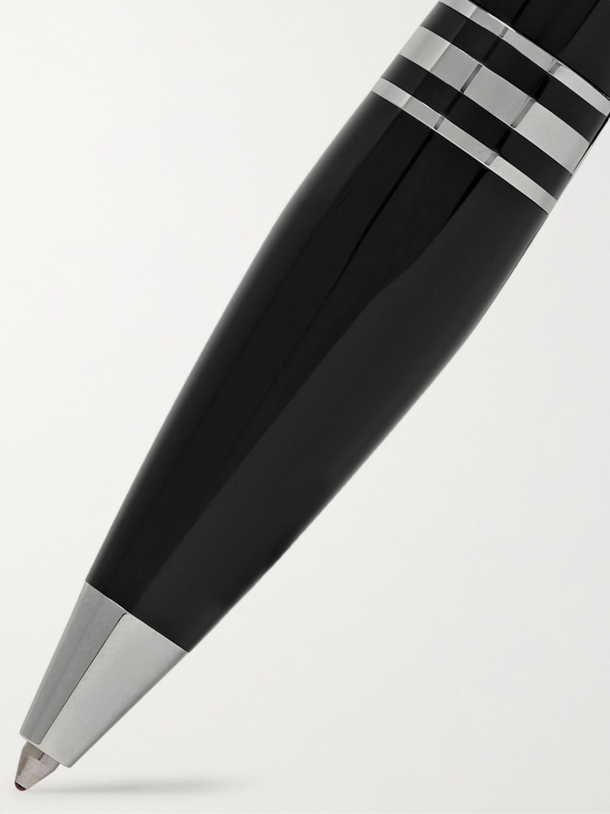 Montblanc StarWalker Resin and Platinum Ballpoint Pen