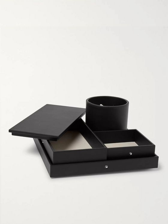 Montblanc Leather Desk Tray
