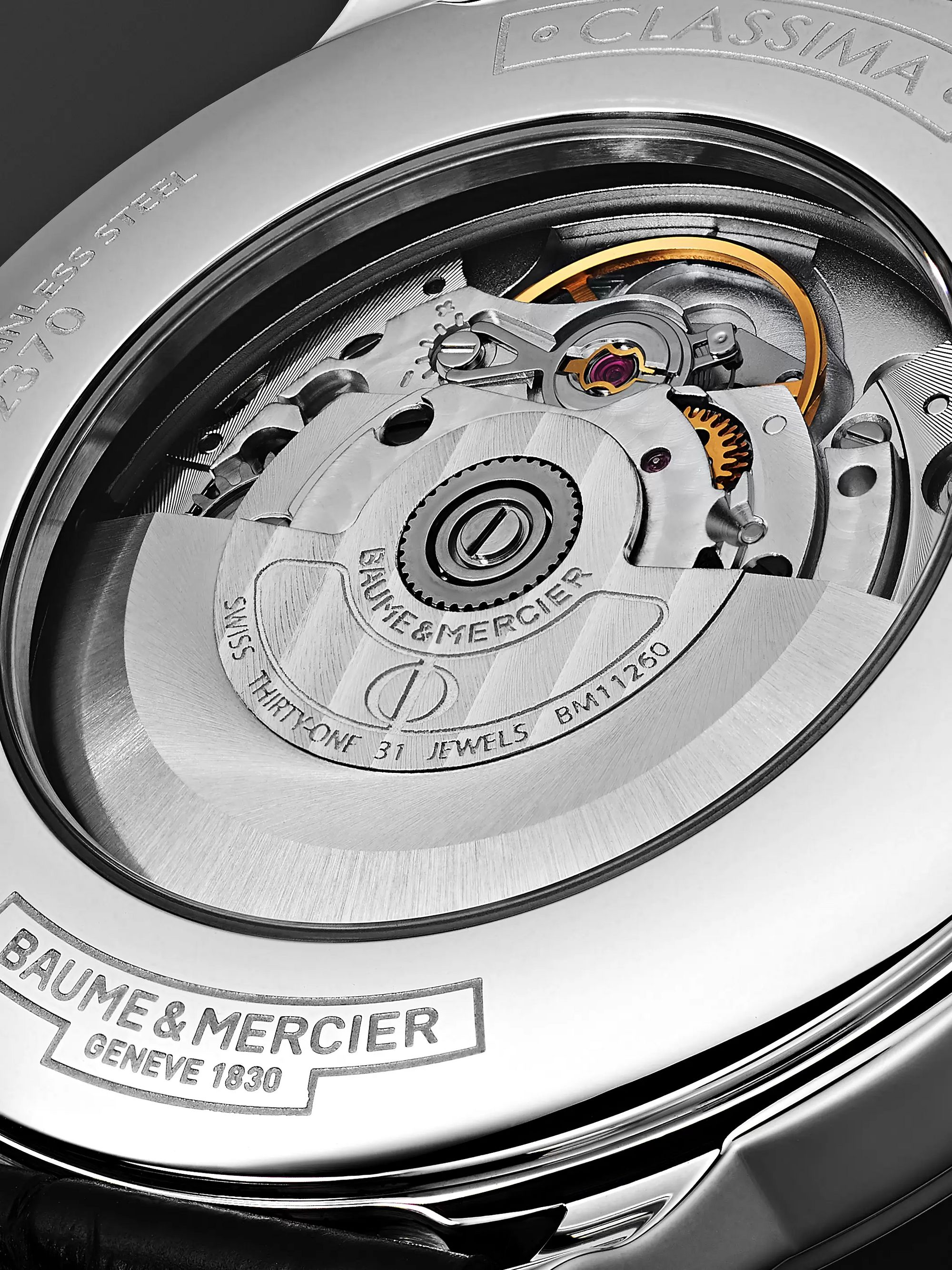 Baume & Mercier Classima Automatic 42mm Stainless Steel and Alligator Watch