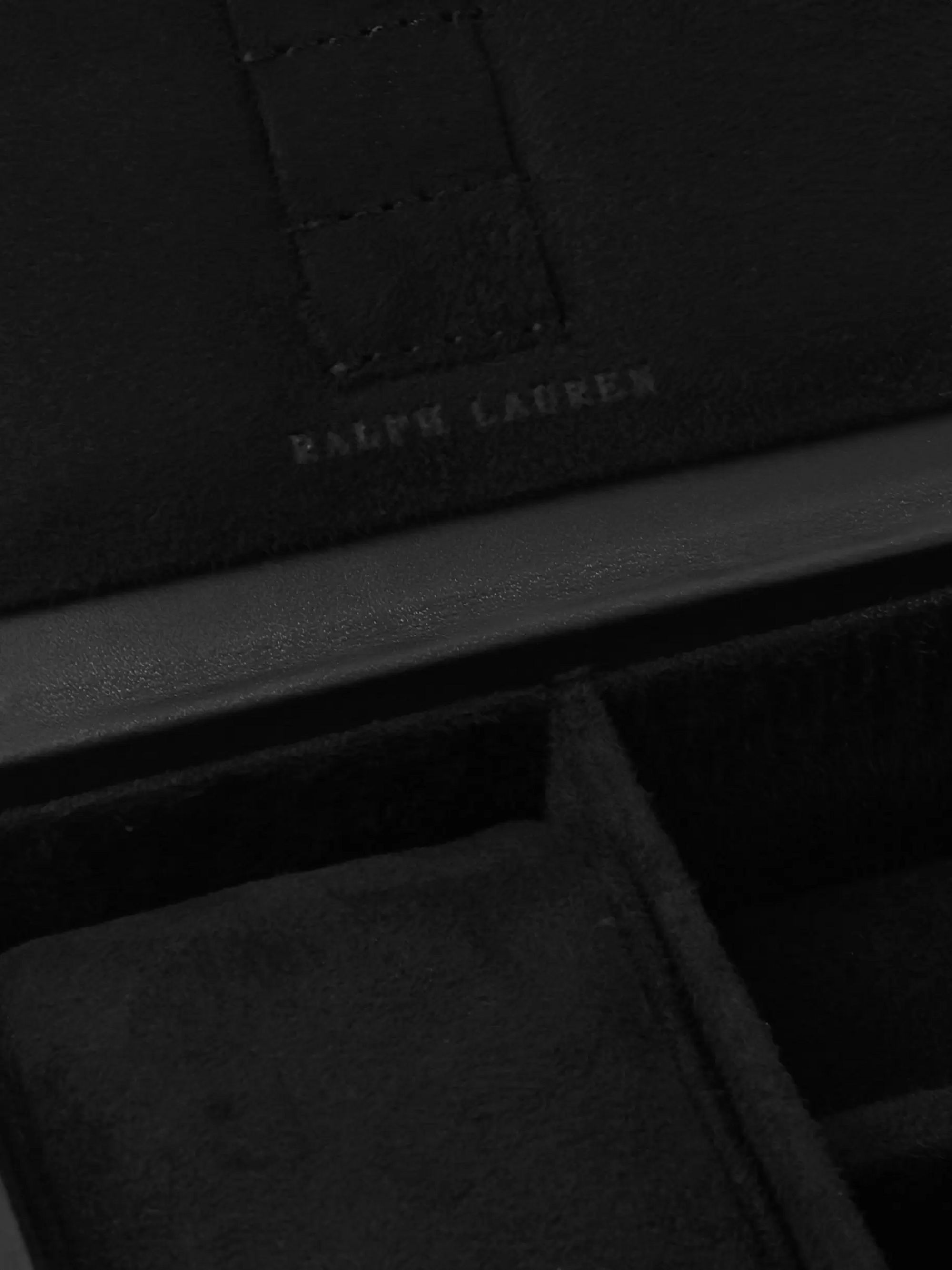 Ralph Lauren Home Cooper Quilted Leather Watch Box