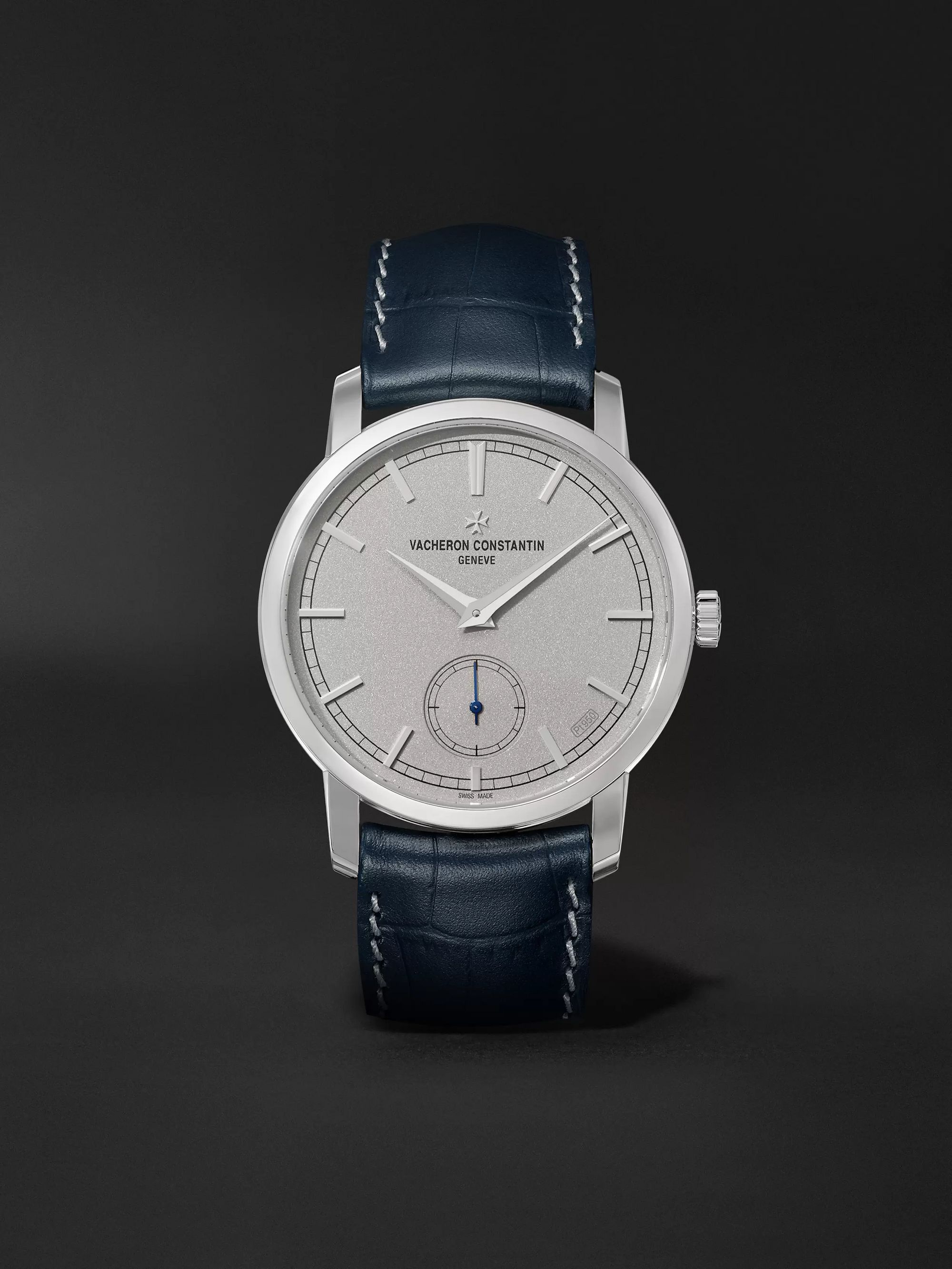 Vacheron Constantin Traditionnelle Excellence Platine Hand-Wound 38mm Platinum and Alligator Watch