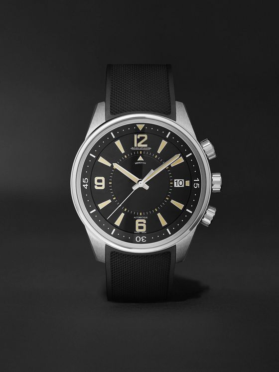 Jaeger-LeCoultre Limited Edition Polaris Memovox Automatic 42mm Stainless Steel and Rubber Watch, Ref No. 9038670