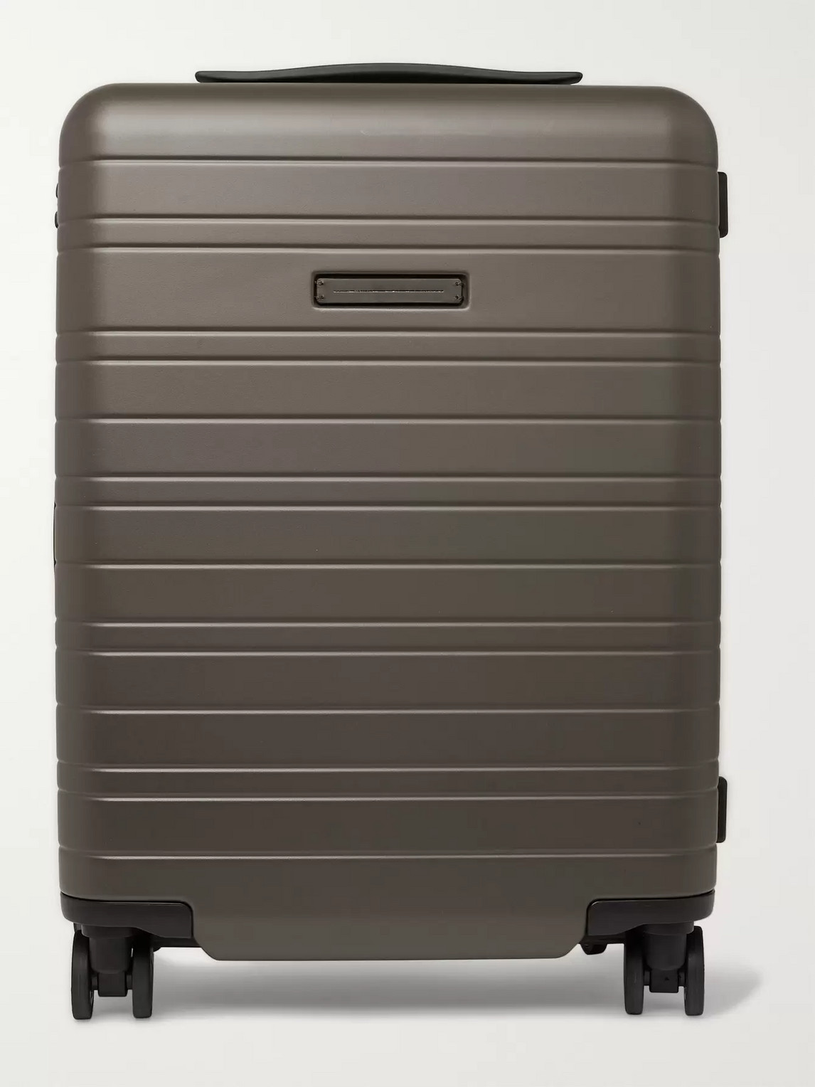 Horizn Studios H5 55cm Polycarbonate Carry-on Suitcase In Green