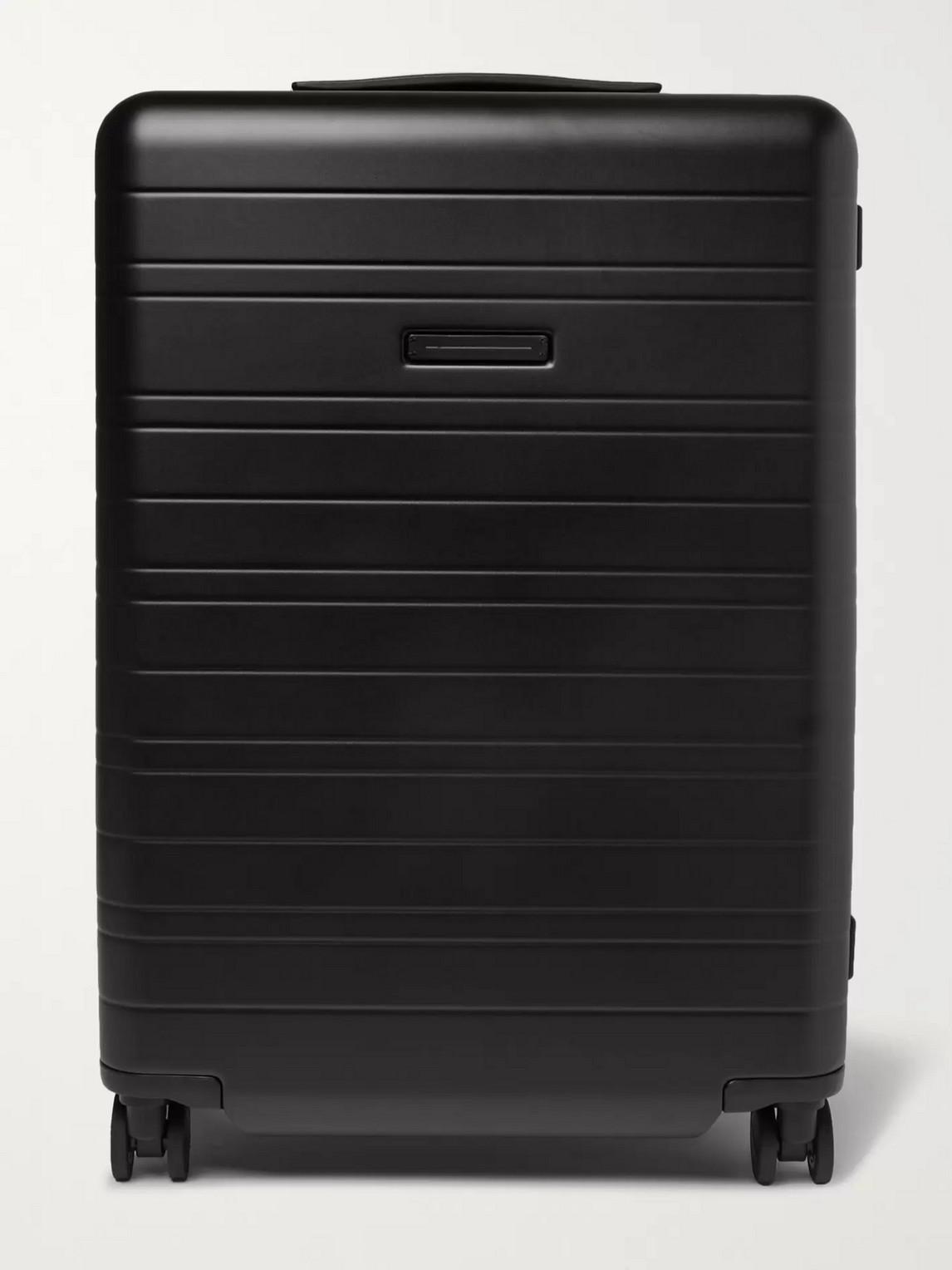 Horizn Studios H6 64cm Polycarbonate Suitcase In Black