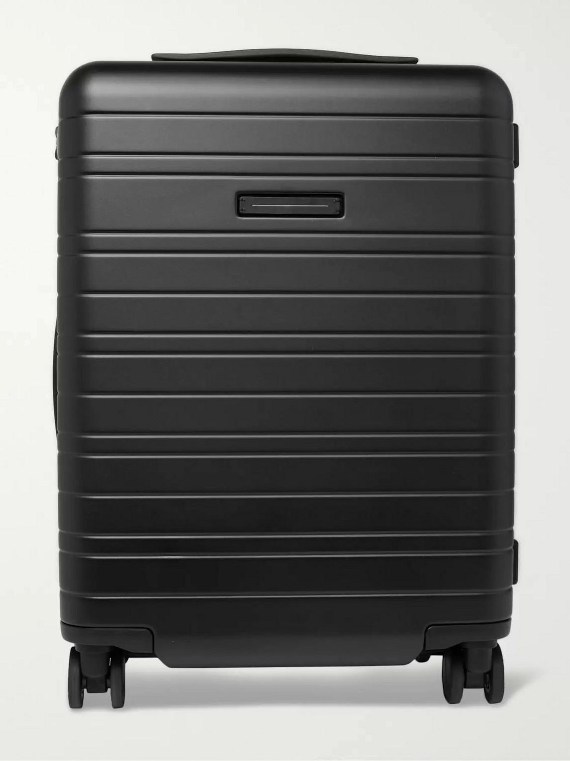 Horizn Studios H5 55cm Polycarbonate Carry-on Suitcase In Black