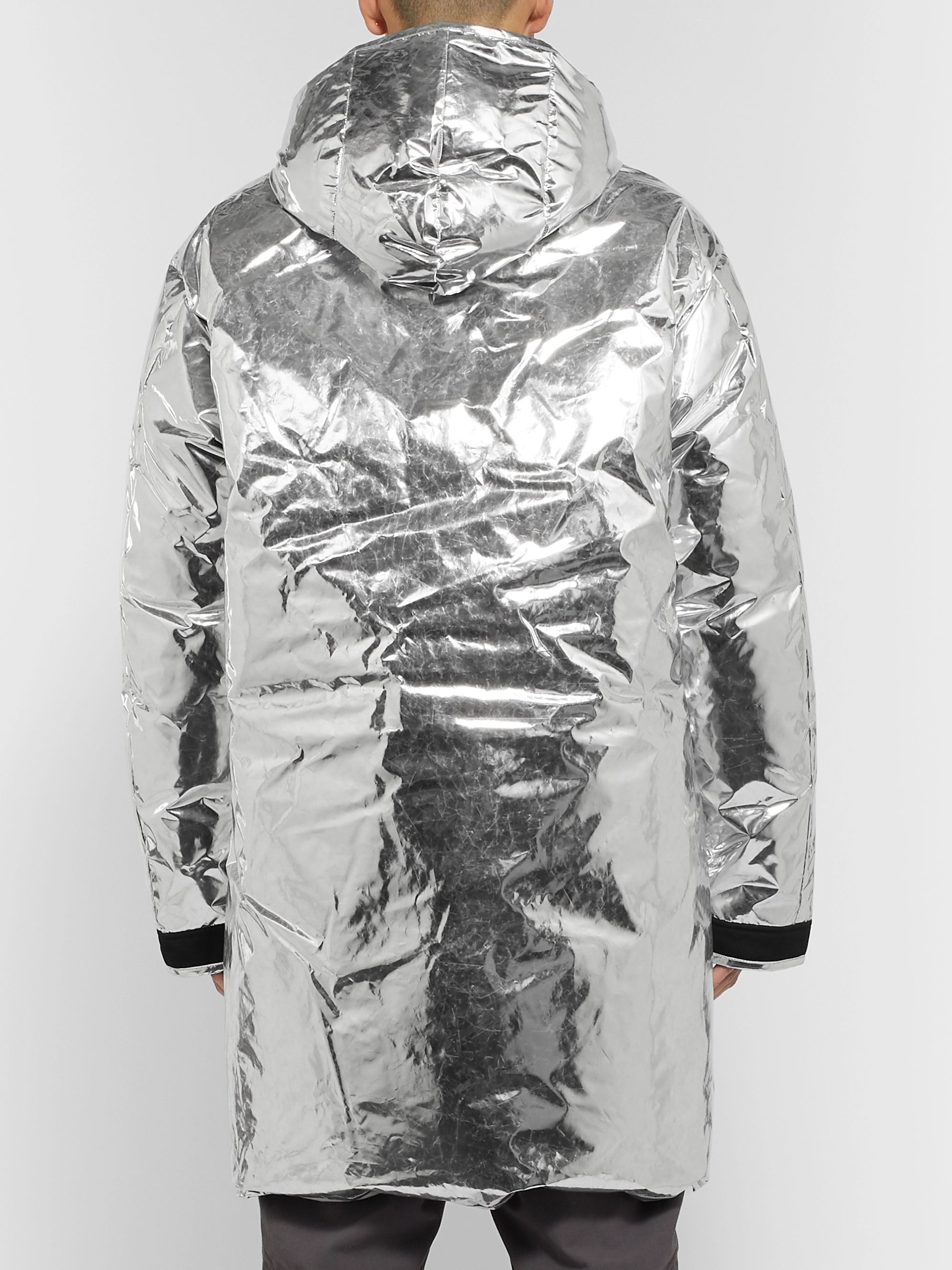 AMBUSH® Contrast-Tipped Shell Down Jacket