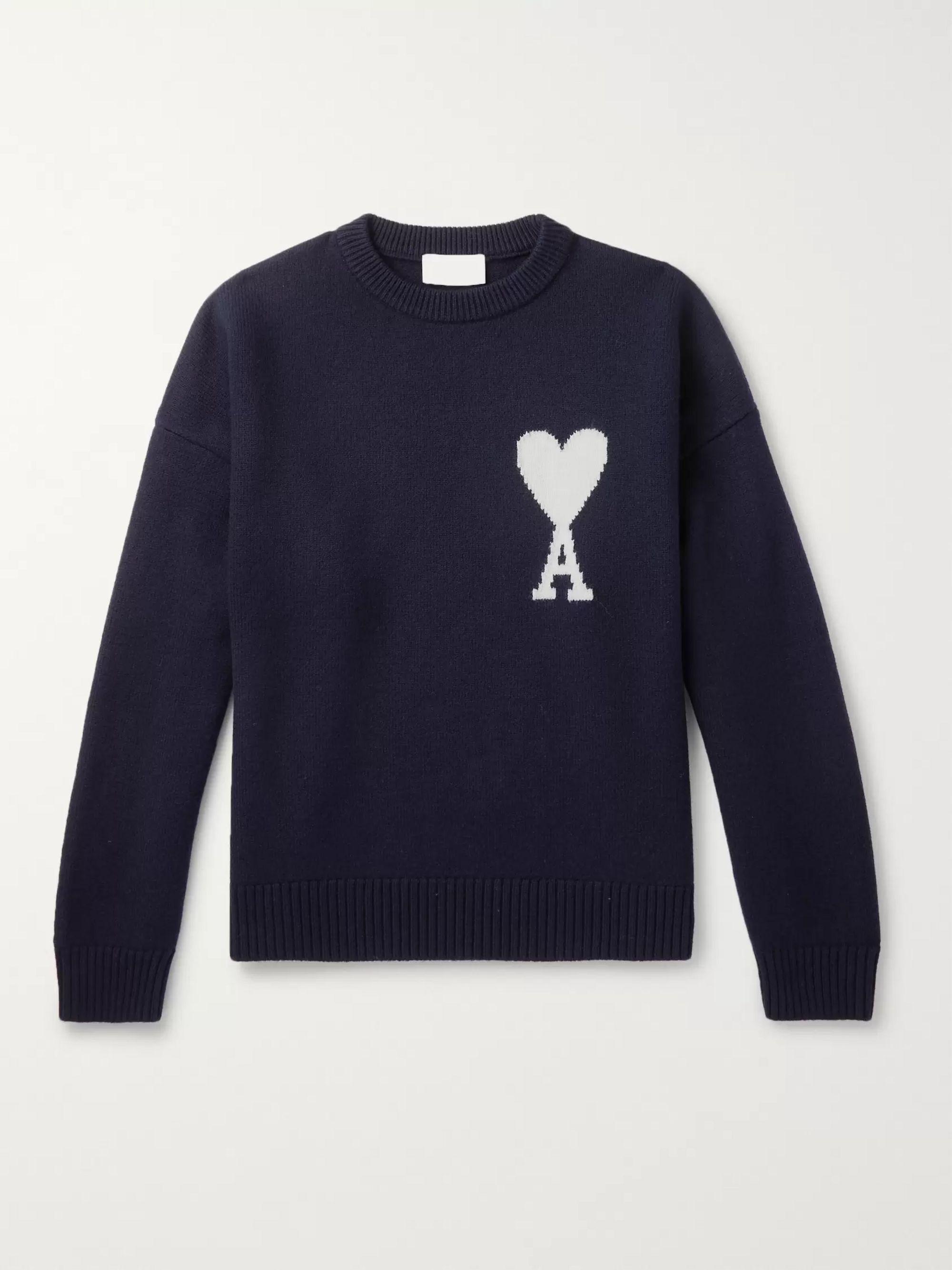 cbd95f40c23b Logo-Intarsia Merino Wool Sweater