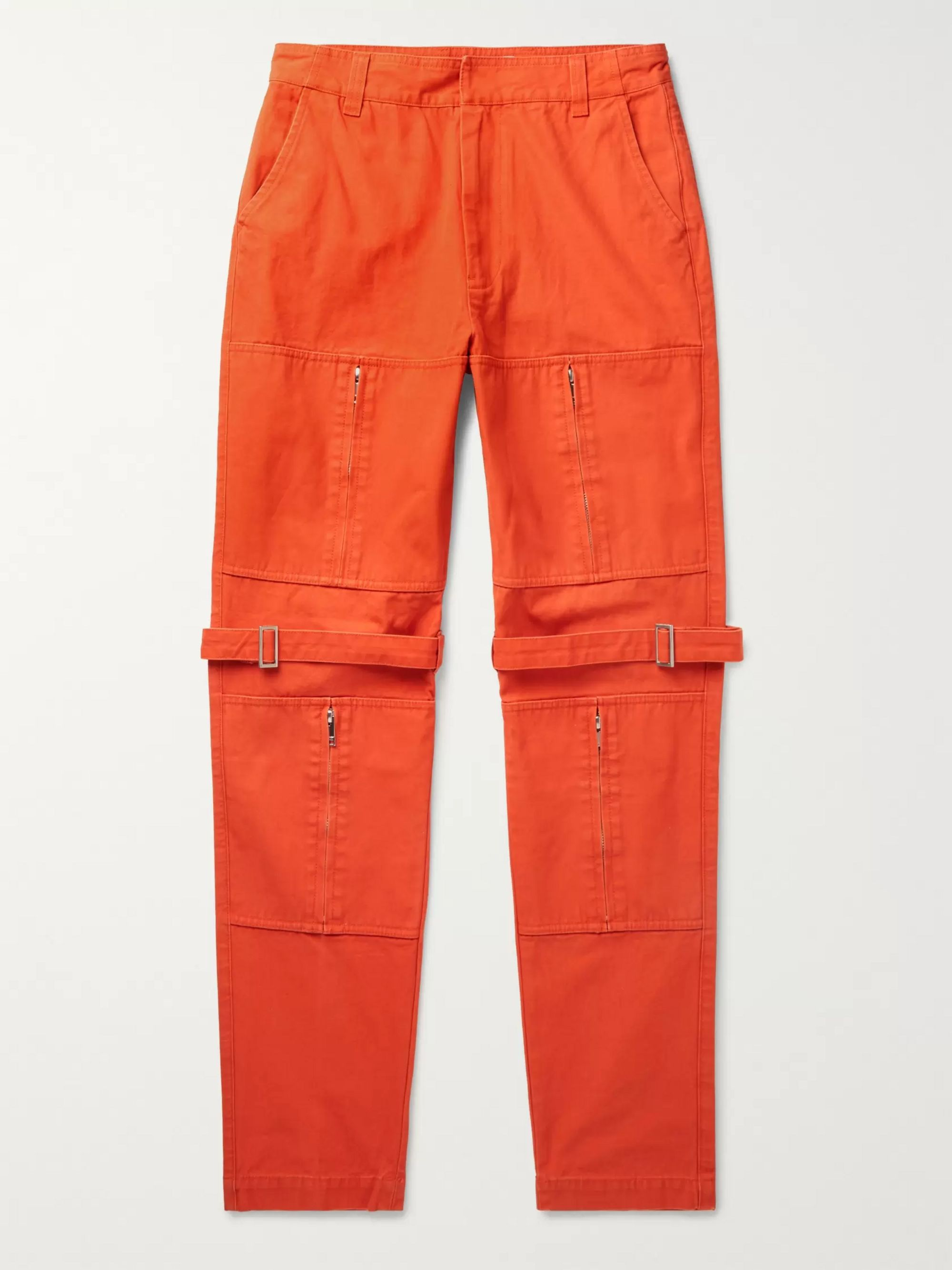 AMBUSH® Tapered Cotton-Canvas Trousers
