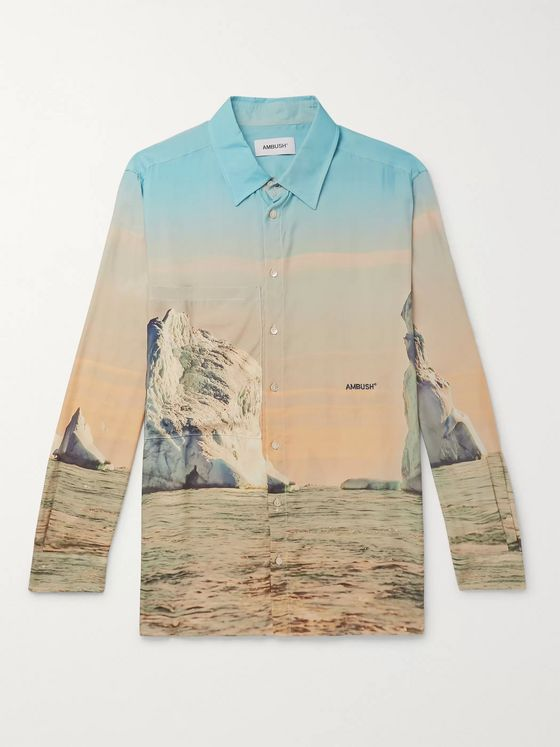 AMBUSH® Printed Voile Shirt