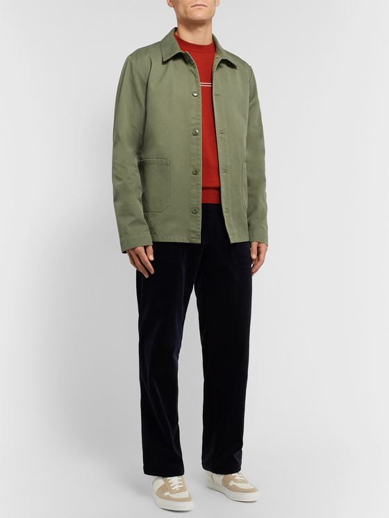 A.P.C. Kerlouan Cotton-Gabardine Jacket