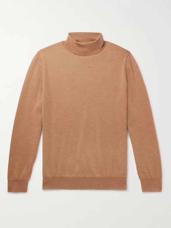A.P.C. Dundee Merino Wool Rollneck Sweater