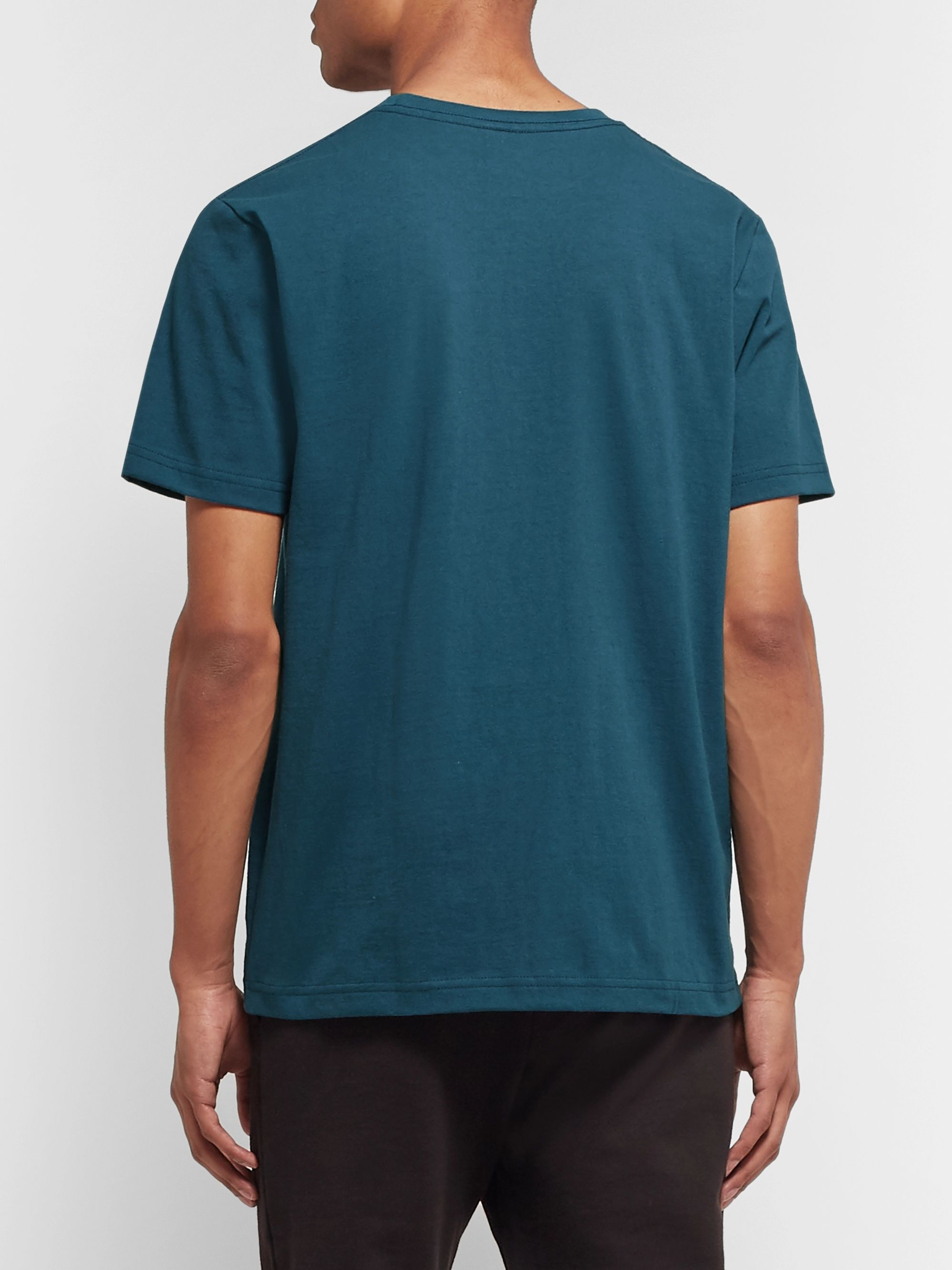A.P.C. Blake Printed Cotton-Jersey T-Shirt