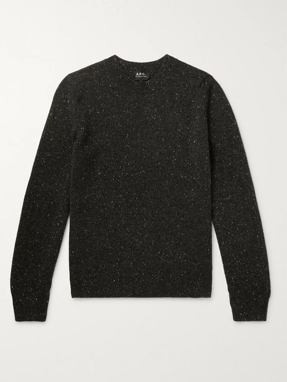 A.P.C. Cavan Donegal Wool Sweater