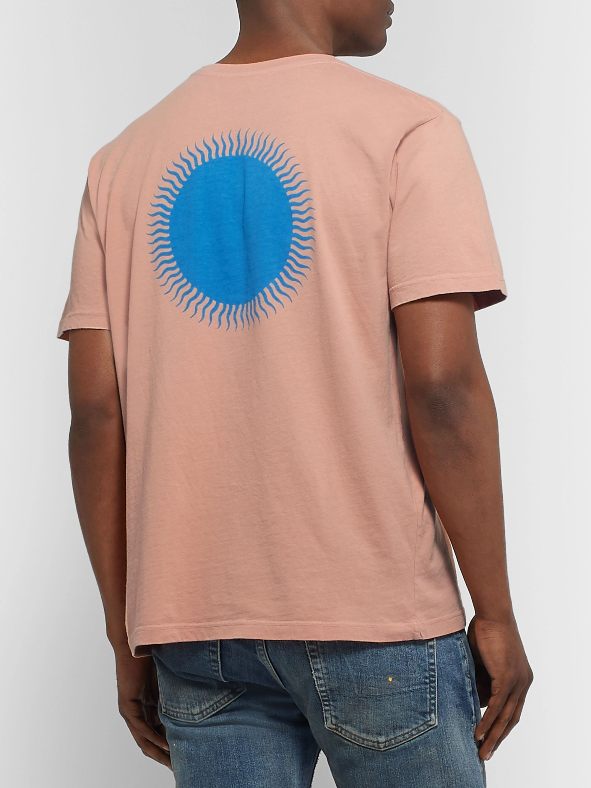 Mollusk Country Sun Printed Cotton-Jersey T-Shirt