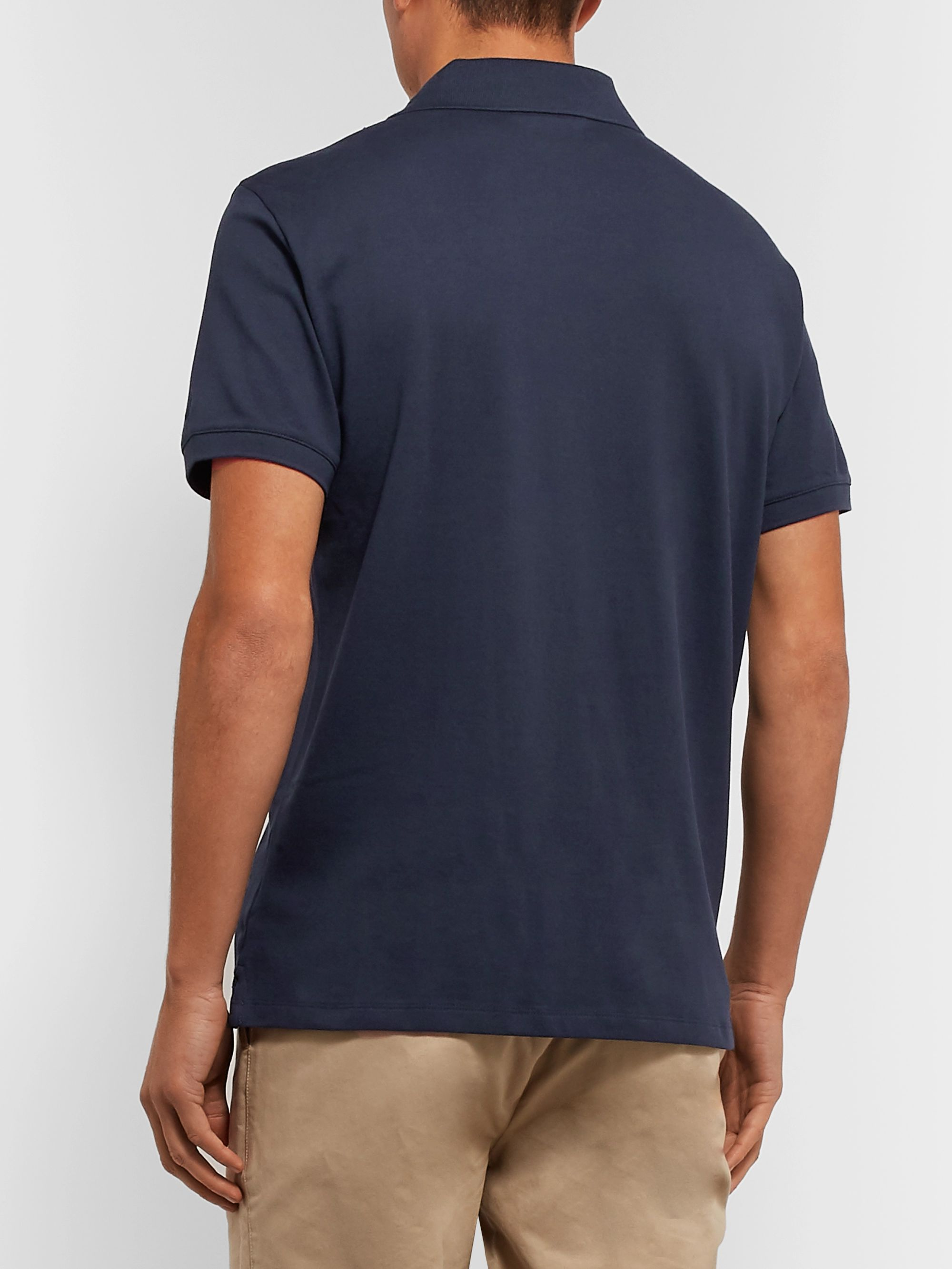 Club Monaco Johnny Stretch-Cotton Piqué Polo Shirt