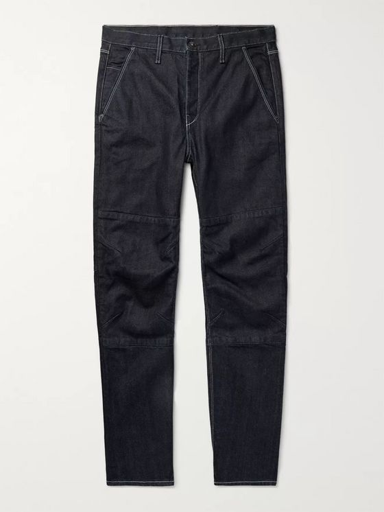 rag & bone Engineer Workwear Slim-Fit Selvedge Denim Jeans