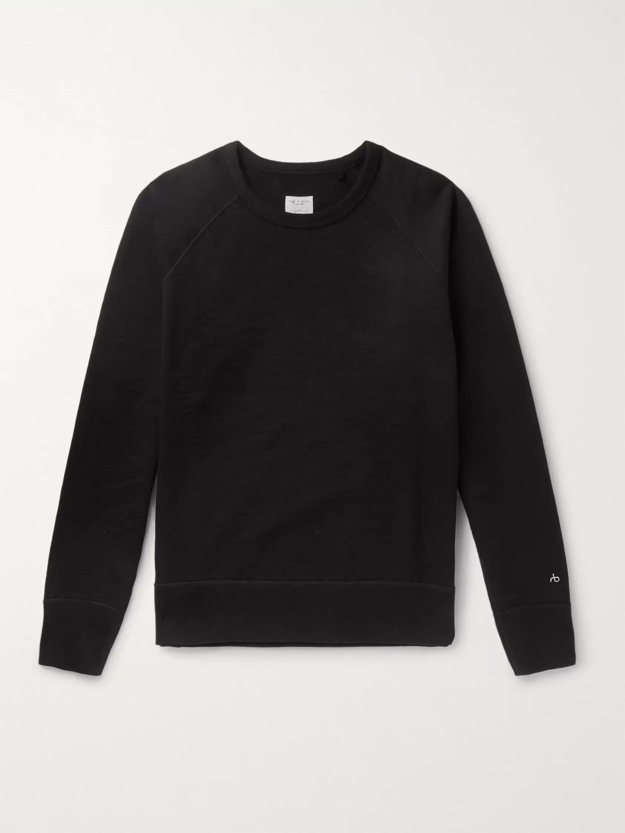 Loopback Cotton Jersey Sweatshirt