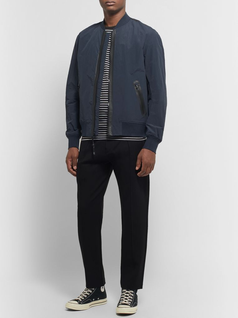rag & bone Nylon and Cotton-Blend Bomber Jacket