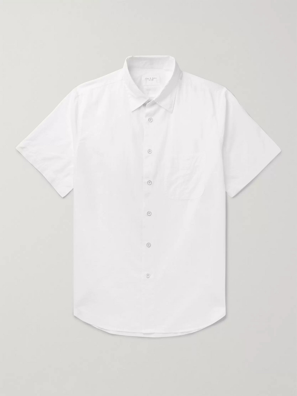 rag & bone Fit 3 Cotton and Linen-Blend Shirt
