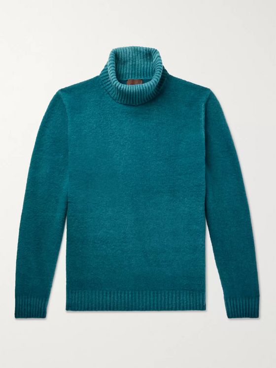 Altea Virgin Wool Rollneck Sweater