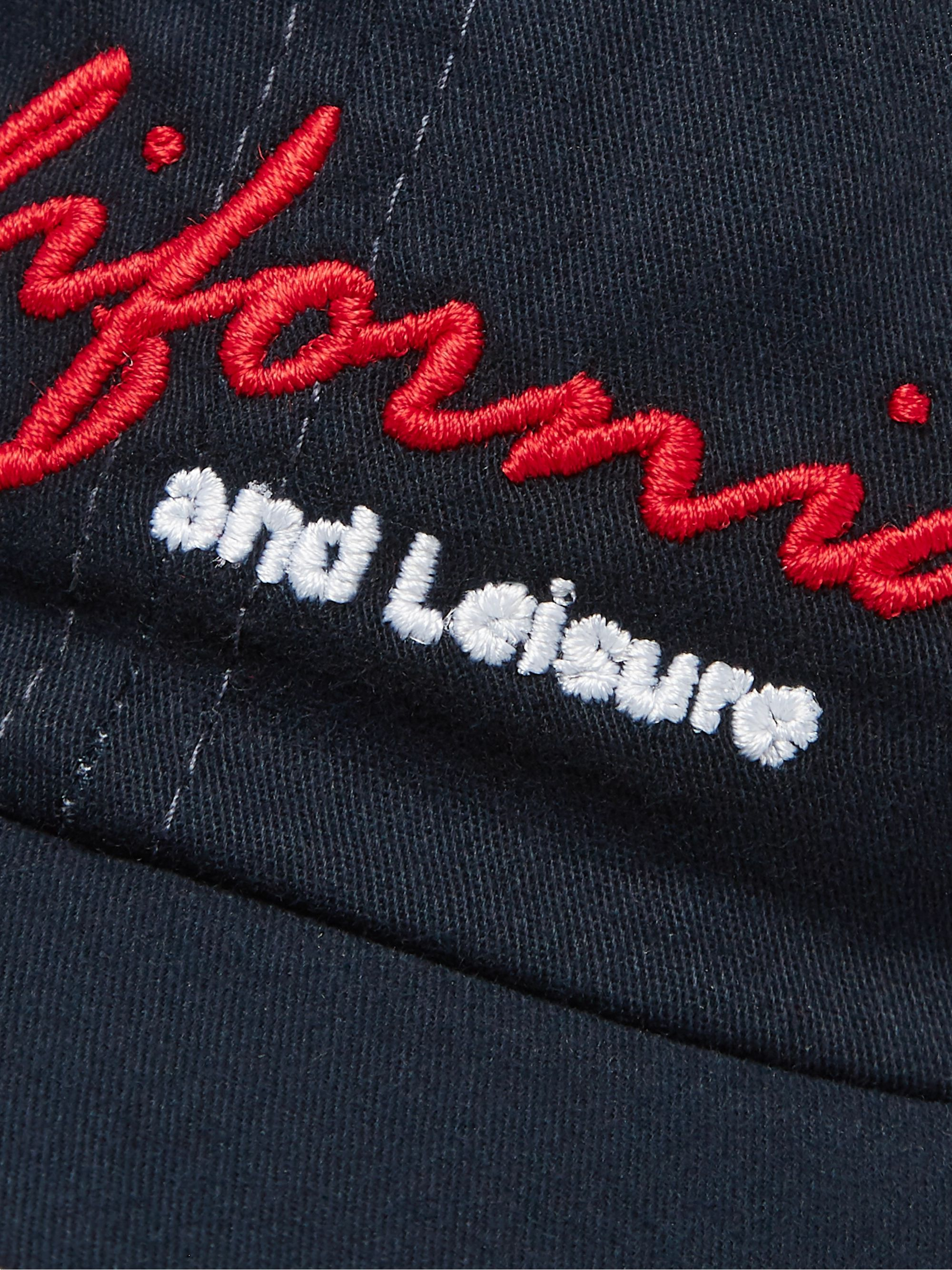 Pasadena Leisure Club Embroidered Cotton-Twill Baseball Cap