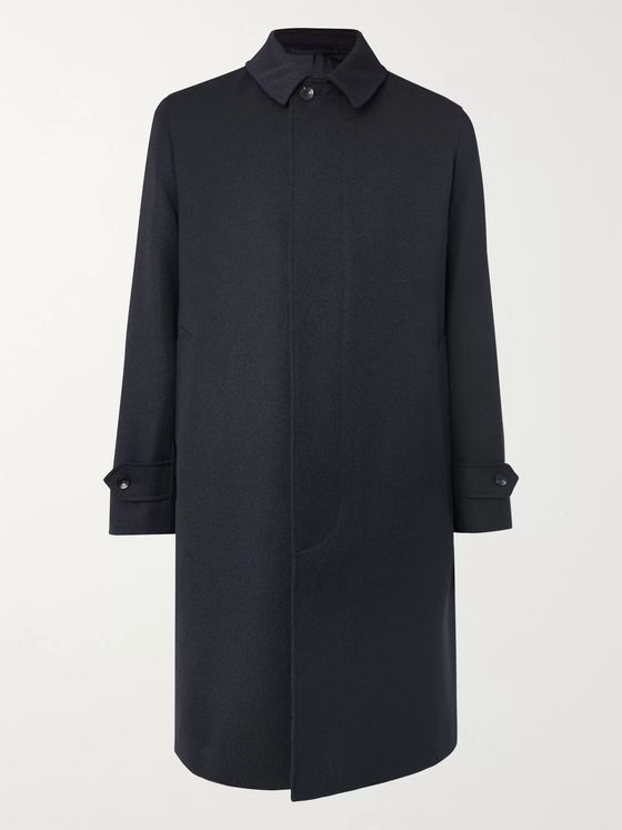 Caruso Wool-Twill Overcoat
