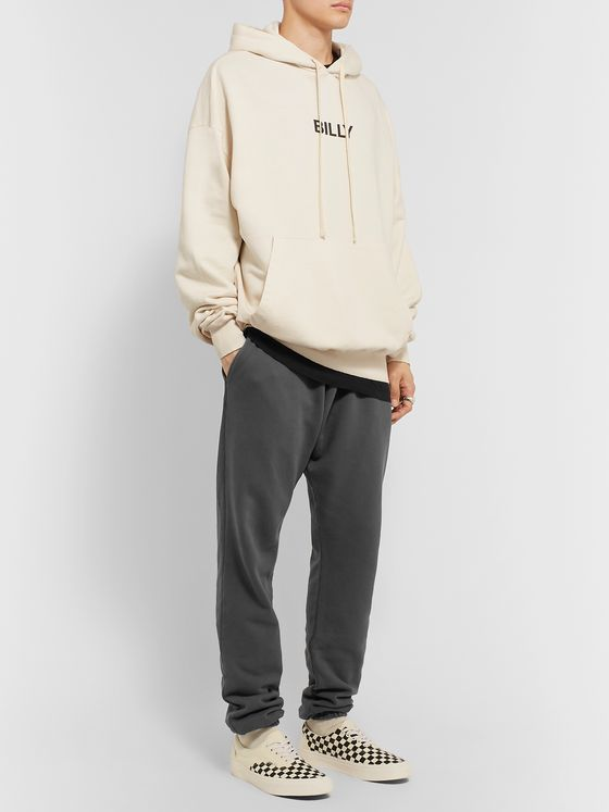 BILLY Cloud Tapered Loopback Cotton-Jersey Sweatpants