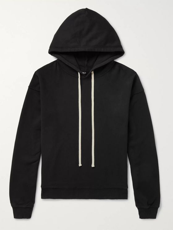 BILLY Oversized Loopback Cotton-Jersey Hoodie