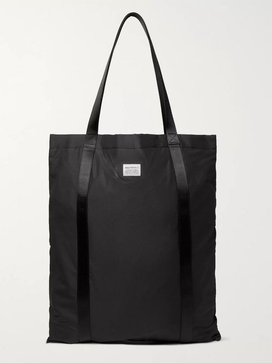Norse Projects Logo-Detailed Nylon-Ripstop Tote Bag
