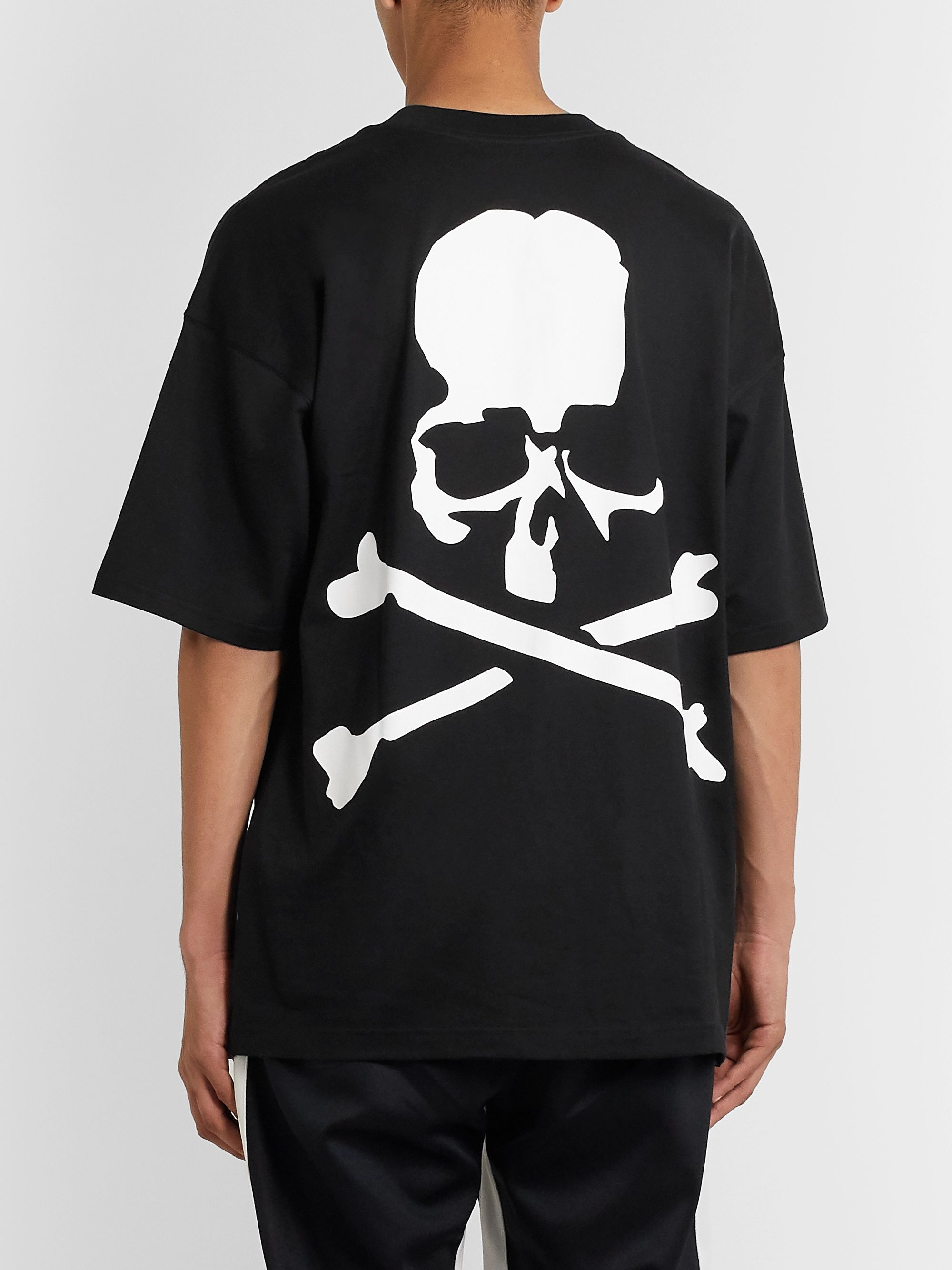 MASTERMIND WORLD Oversized Printed Cotton-Jersey T-Shirt