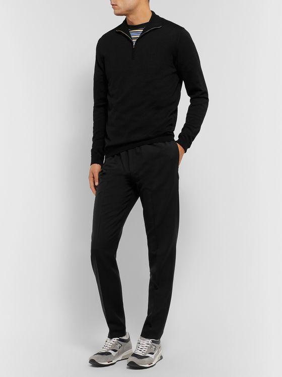 Norse Projects Fjord Slim-Fit Merino Wool Half-Zip Sweater