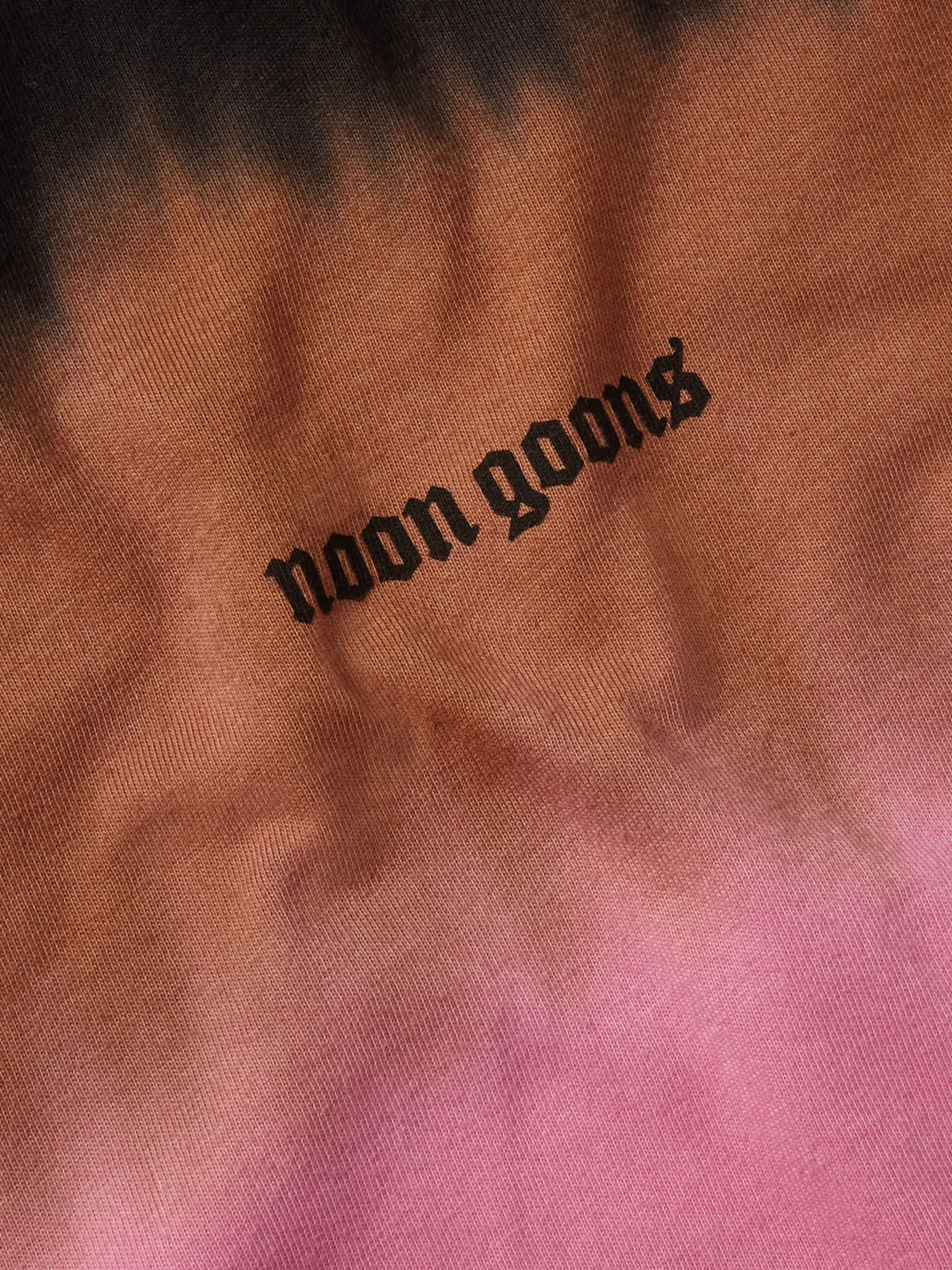 Noon Goons Max Logo-Print Tie-Dyed Cotton-Jersey T-Shirt