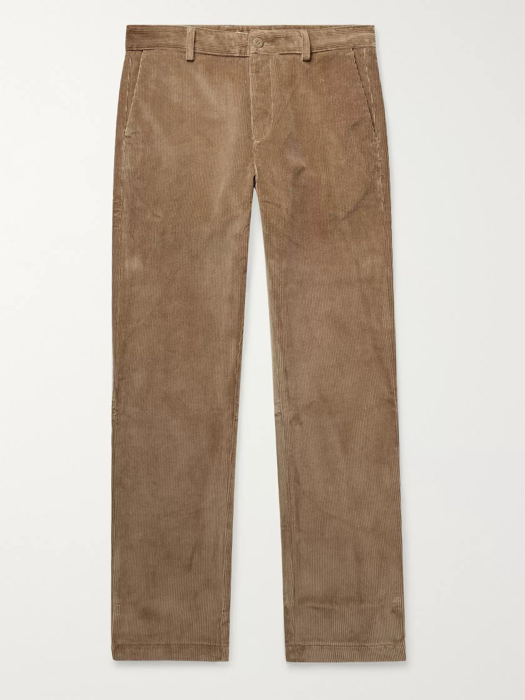 Norse Projects Albin Cotton-Corduroy Trousers