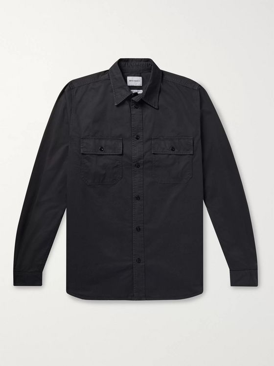 Norse Projects Villads Cotton-Twill Overshirt
